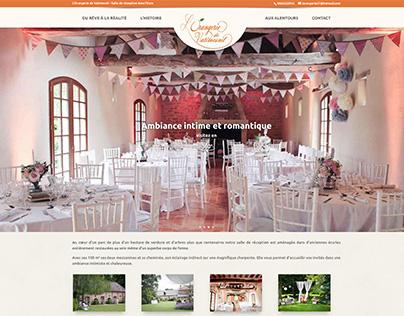 Création web l'orangerie de Vatimesnil